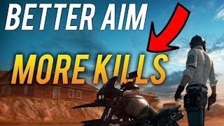 [XBOX] BETTER AIM = MORE KILLS IN PUBG| How to improve your AIM.