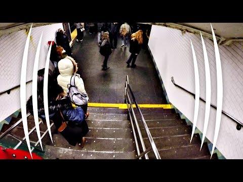 New York City Subway Ride (BINAURAL AUDIO IMMERSION) - The Sound Traveler