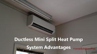 Ductless Mini Split Heat Pump System Advantages