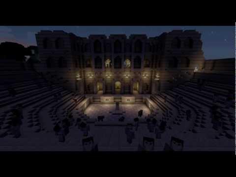 Minecraft Theatre of Dionysus