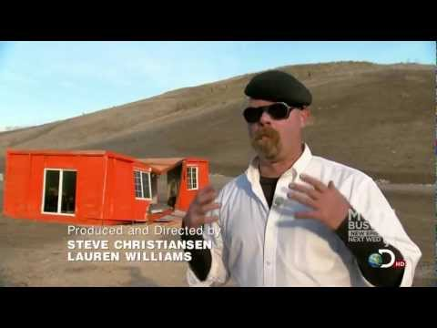 Mythbusters Blue Ice (Methane House Explosion)