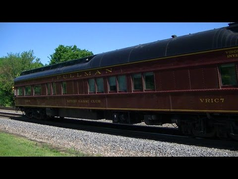 Amtrak #6 with Pullman Car Kitchi Gammi Club