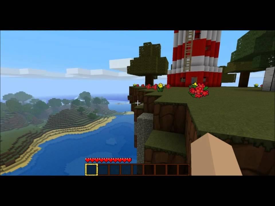 Minecraft Flying Island El Manana Youtube