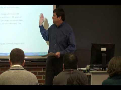 NSF DDIG Seminar, January 2010, part 2