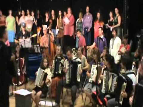 East Coast Balkan Camp American Albanian Student Ensemble 2010 - Steve's Gajda