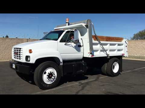2000 GMC C7500 5-6 Yard Dump Truck For Sale