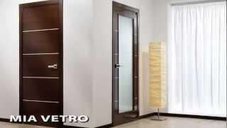 Mia Vetro Interior Door Wenge