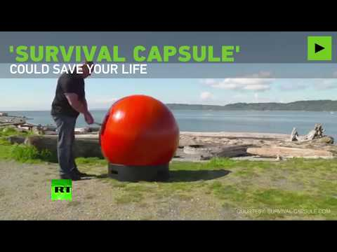 Survival Capsule: Engineers make floating capsule to withstand natural disasters