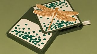 Dragonfly Dreams Hinged Slip Lid Gift Box - Video Tutorial with Stampin' Up products