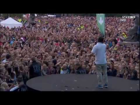 Hedegaard & Lukas Graham - Happy Home Live @ VG-lista, Oslo 20th June 2014