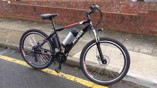 ANCHEER Power Plus Electric Mountain Bike with 36V 8Ah  Lithium-Ion Battery, Shimano 21 Speed