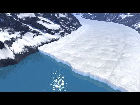 Animation: How a Glacier Melts