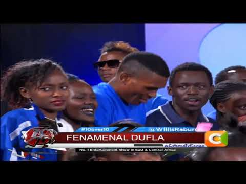 10 OVER 10 | Fena Gitu & Dufla talk of how they got to do a collaboration