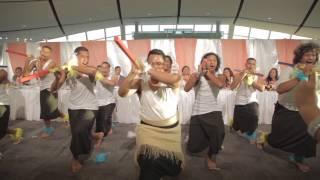 Tongan Performance at a Samoan Wedding
