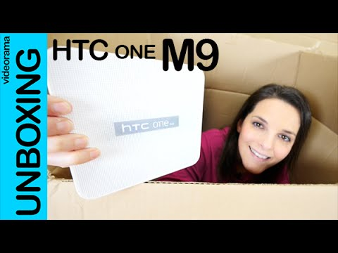 HTC One M9 unboxing en español