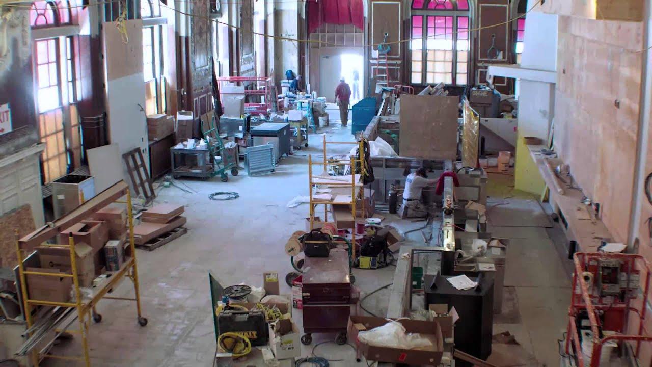 oak long bar + kitchen: the transformation - youtube