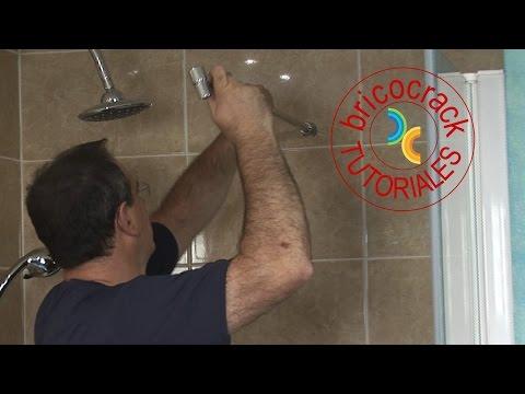 Montar una mampara frontal para la ducha bricocrack - Puertas de biombo ...
