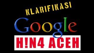 Google H!N4 MASYARAKAT ACEH VIA GOOGLE MAPS - Video Klarifikasi | Nazier Millionaire