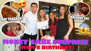 MONEY CAKE SURPRISE (MOM'S BIRTHDAY) | RANA HARAKE