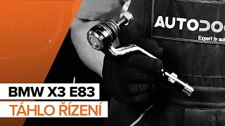 Montáž přední a zadní Brzdové Destičky BMW X3 (E83): video zdarma