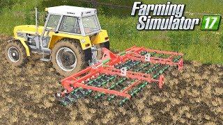 Praca broną mulczową - Farming Simulator 17 | #64