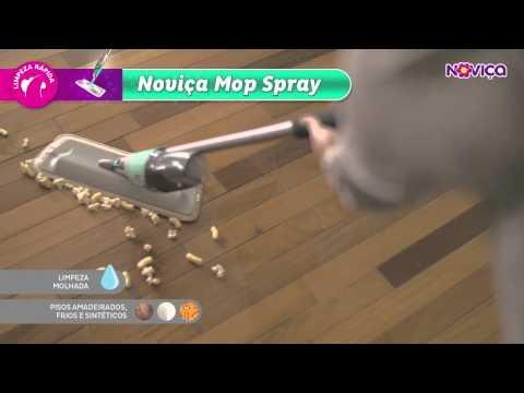 Noviça Mop Spray - Um novo jeito de pensar em limpeza
