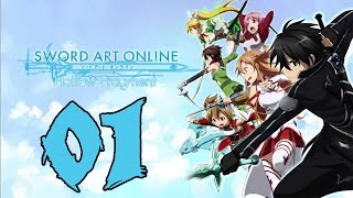 Sword Art Online Re: Hollow Fragement - Gameplay Walkthrough Part 1: Hollow Area