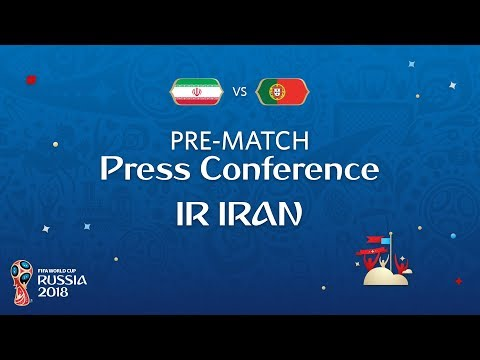 FIFA World Cup™ 2018: IR Iran - Portugal: IR Iran - Pre-Match Press Conference