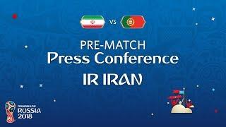 FIFA World Cup™ 2018: IR Iran - Portugal: IR Iran - Pre-Match Press Conference
