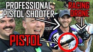 PRO MARKSMAN vs. PRO DRONE RACER || GUNS and DRONES