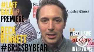 Beck Bennett interviewed at Brigsby Bear *Gala Premiere* at #LAFF #BrisgbyBear