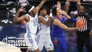 Kansas Jayhawks vs. Kentucky Wildcats [HIGHLIGHTS] | ESPN College Basketball