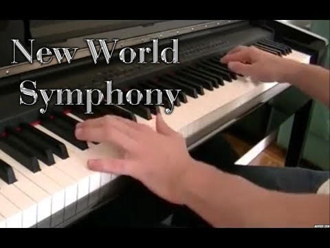New World Symphony Piano - 4th movement Dvorak (sheet+midi)
