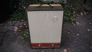 Silvertone Hi-Fi to SICK GUITAR AMP...A Conversion Love Story