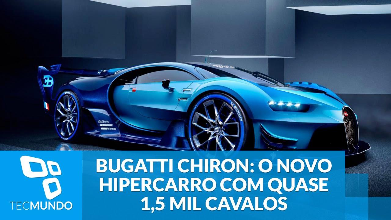 Bugatti Chiron O Novo Hipercarro Com Quase 1 5 Mil