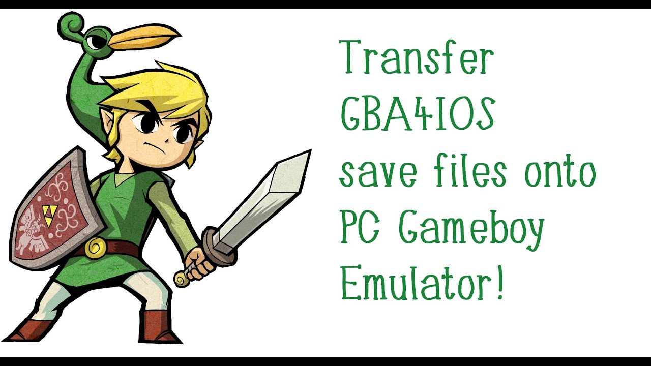 Transfer GBA4IOS save files onto PC GBA Emulator! QUICK & EASY tutorial