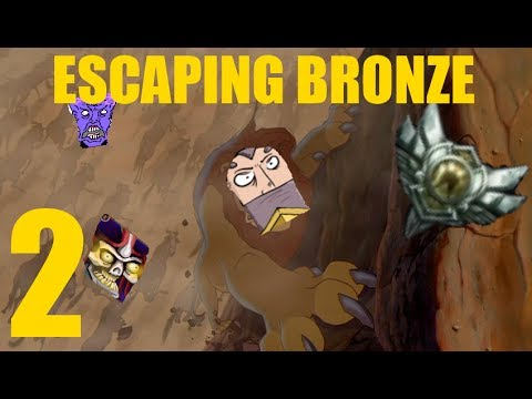Escaping Bronze - Part 2 - Never Under Estimate The Power Of The Galio Ult