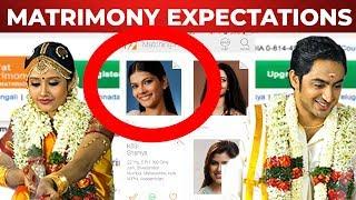 FUN : Single Pasanga react to Matrimony Expectations