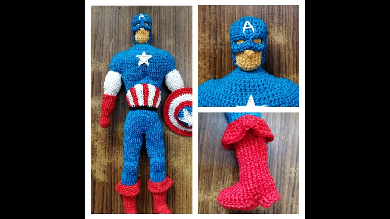 Iron Man Amigurumi Crochet Patterns Ideas Free – CrochetIdeasFree | 720x1280