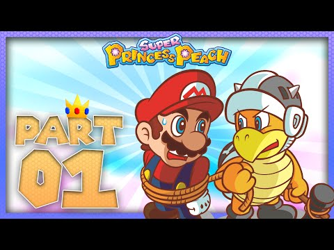 Super Princess Peach - The Vibe Scepter Part 1 | Gameplay Walkthrough Lets Play