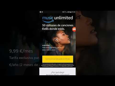 Amazon music unlimited  (link en la descripción) Mes GRATIS