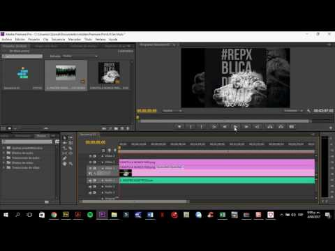 TUTORIALES PARA ARTISTAS 2: Colocar una imagen a una canción para subir a You Tube.