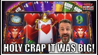 One of my best results ever doing this slot machine strategy! Big Win on Queenie!