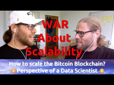 Data Scientist discusses how the Bitcoin Blockchain technology scales!