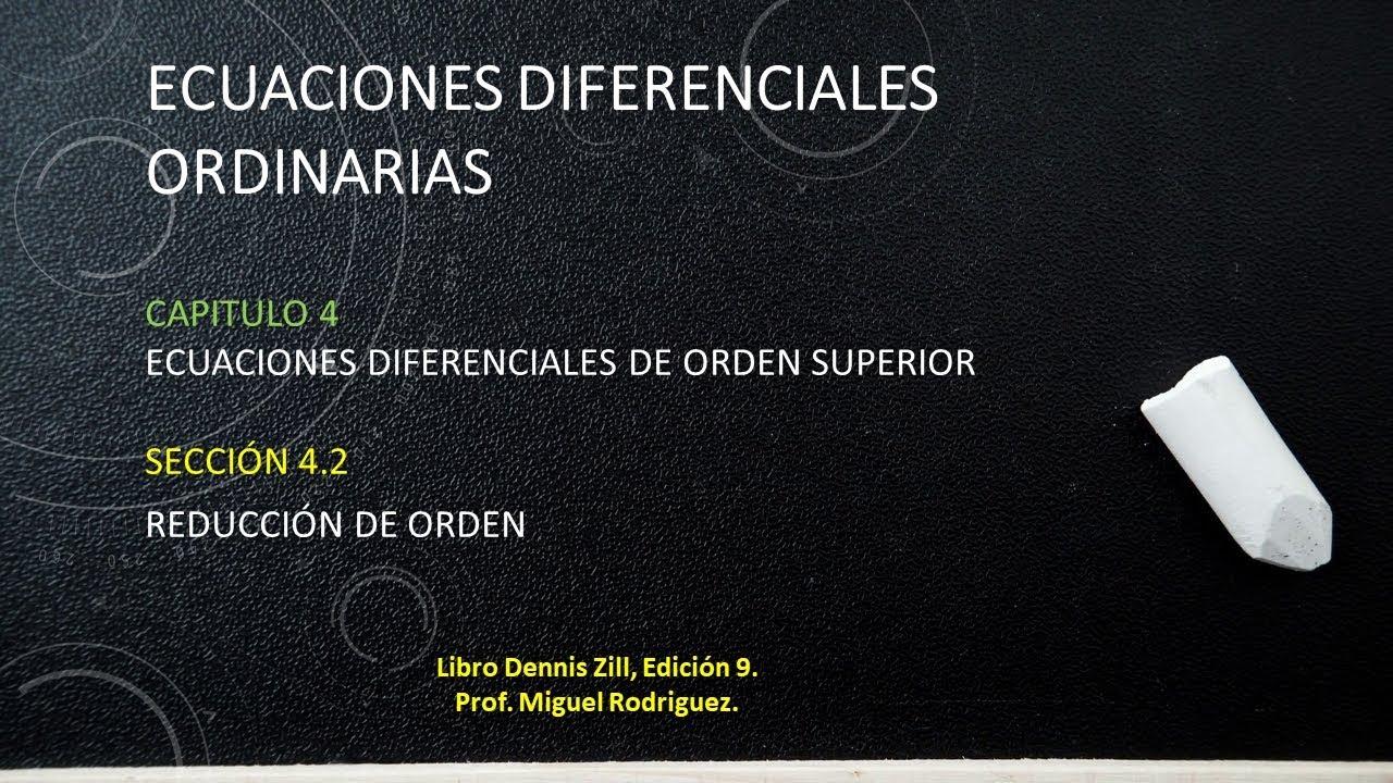 Dennis Zill Ecuaciones Diferenciales 9 Edicion Ebook