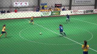 2013 Edmonton Mini World Cup (Womens) / Italy (4) vs Ukraine (2)  Italy Goal By #6