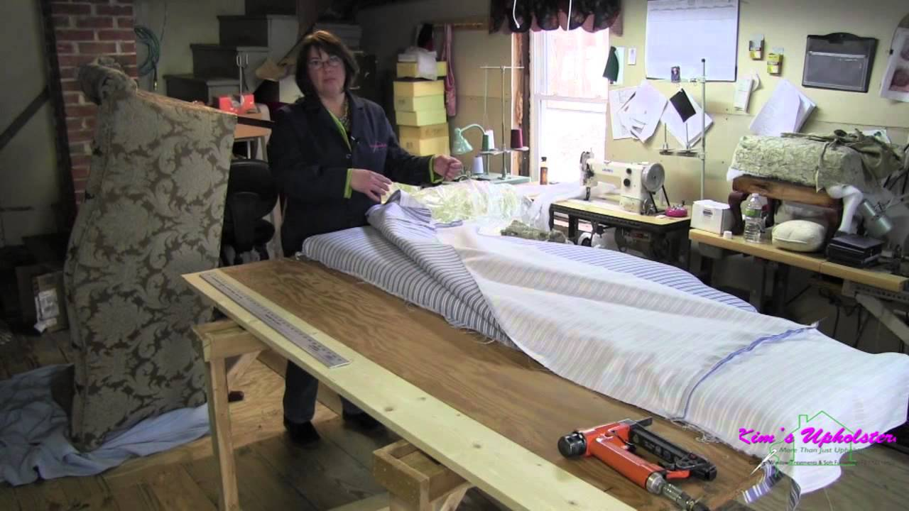 How To Upholster A King Size Headboard YouTube
