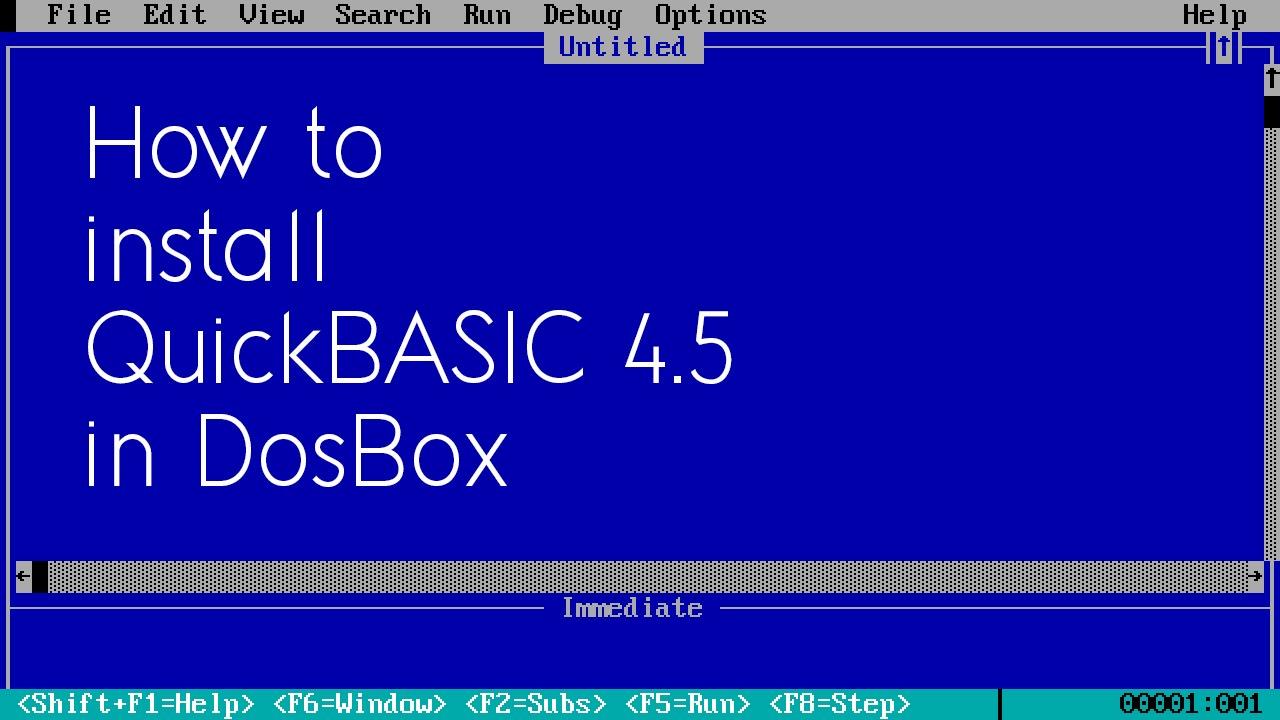 qbasic 7.1