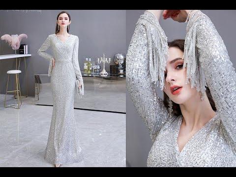 Elegant Sequin Mermaid Evening Dresses Collection For 2020 Prom