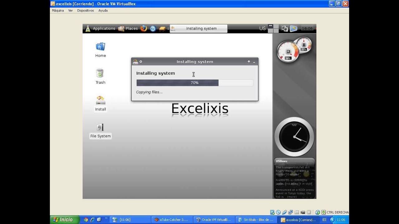 excelixis linux